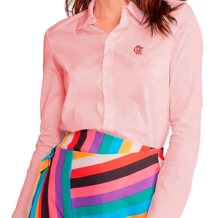 camisa-flamengo-manga-longa-feminina-rosa
