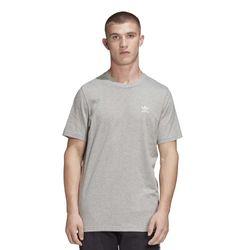 camiseta-adidas-essential-cinza