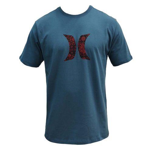camiseta-hurley-H-azul