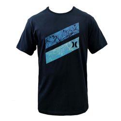 camiseta-hurley-barras-florais-marinho