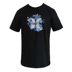 camisa-hurley-logo-floral-preto
