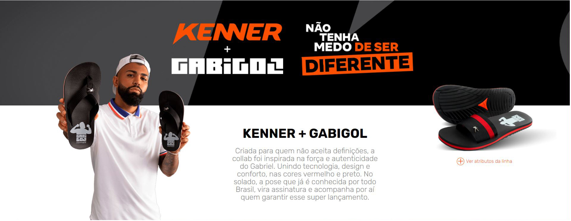 Sandália Kenner Gabigol