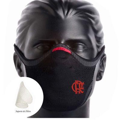 mascara-flamengo-sportsmask-preta---suporte
