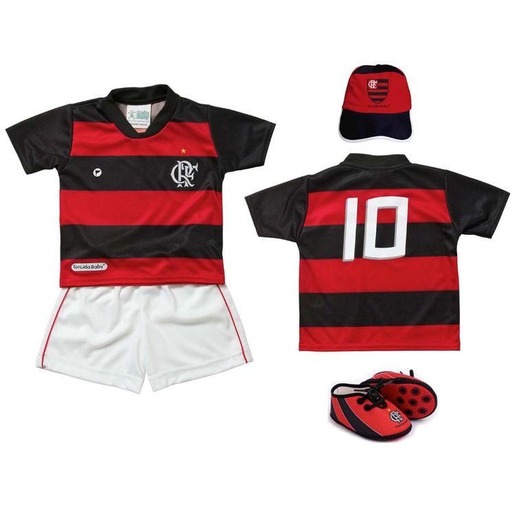 Kit-Flamengo-Bebe-4-Pecas-Sublimado-Torcida-Baby
