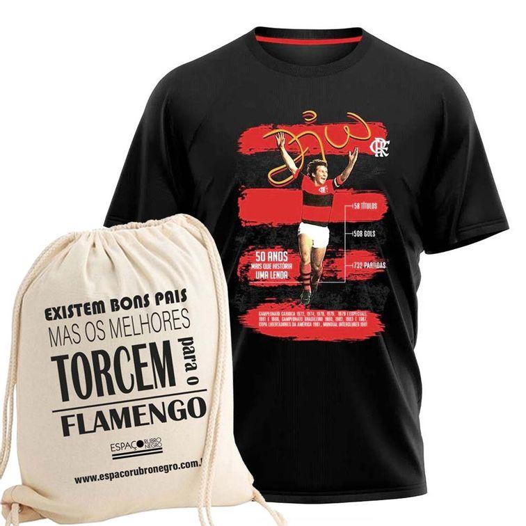 camisa-flamengo-debut-zico-50-anos-braziline-ecobag