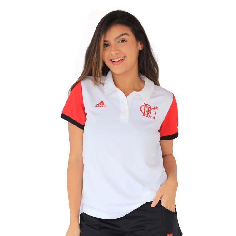 Camisa-Polo-Flamengo-Feminina-Classica-Adidas-2021