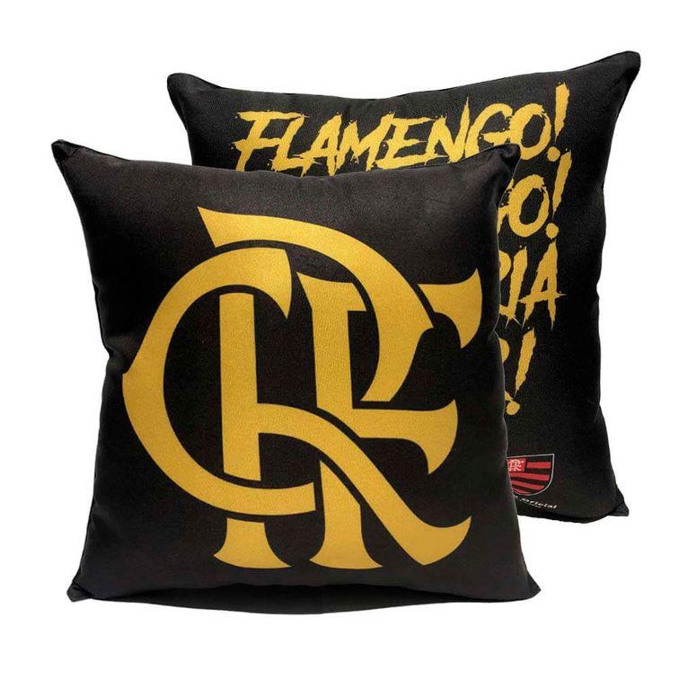 almofada-flamengo-raca-dourada